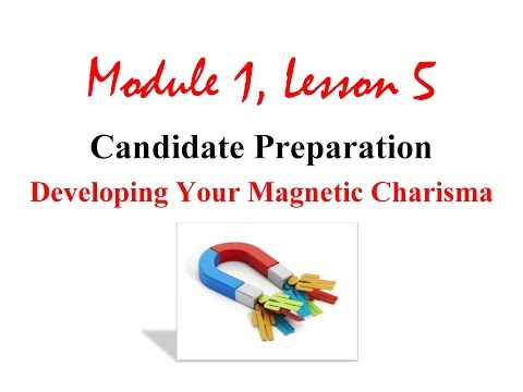 How to Display Magnetic Charisma in a Political Campaign