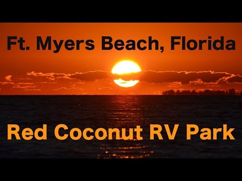 Ft. Myers Beach, Red Coconut RV Park | Traveling Robert