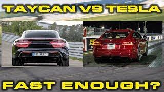Download TRY AGAIN TAYCAN * VBOX Comparison between Porsche Taycan & Tesla Model S Raven Video