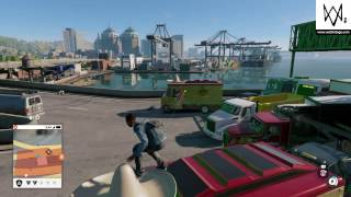 Insane Traffic Accident in Watch Dogs 2