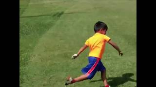 5-Yr-Old Left Ecstatic After Nailing Incredible Tee Shot