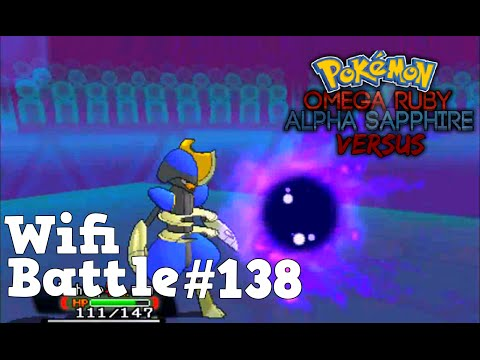 Pokemon ORAS / X&Y Wifi Battle #138: Bisharp Sweep (Omega Ruby & Alpha Sapphire)