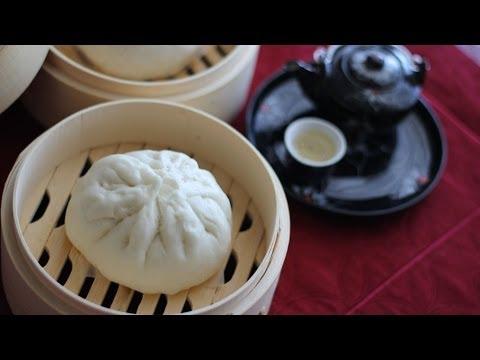 Banh Bao (Vietnamese Steamed Pork Buns)
