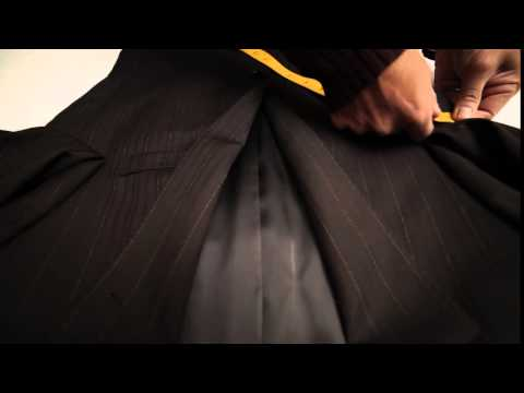 How to measure Jacket Chest