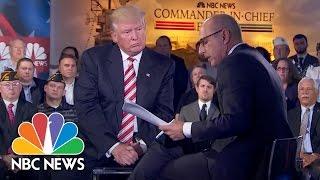 Donald Trump: When Putin Calls Me Brilliant I