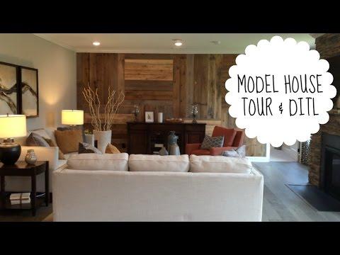 Model Home Tour & DITL Vlog!