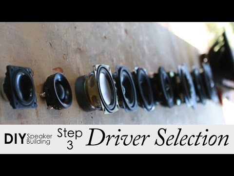 7 Steps To Pick The Best Drivers For Your DIY Speaker Project || Step 3