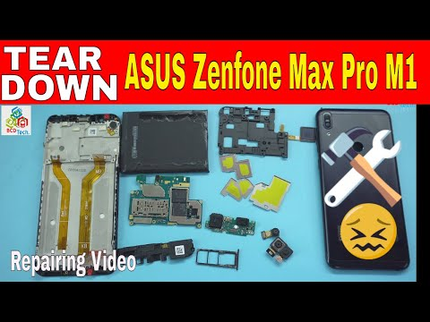ASUS Zenfone Max Pro M1 Tear Down: How to Repair & Replace Battery, Board & LCD..