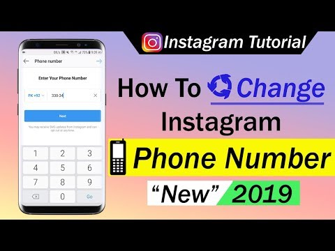 How To Change Instagram Phone Number