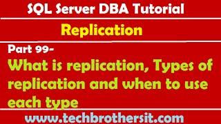 SQL Server DBA Tutorial 19- Checklist Overview before