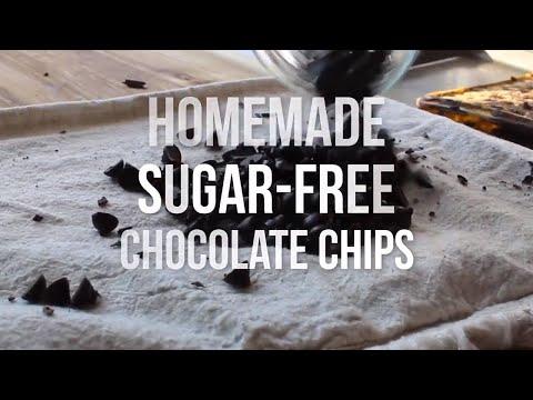Homemade Keto Chocolate Chips Recipe (Sugar Free Chocolate Chips)