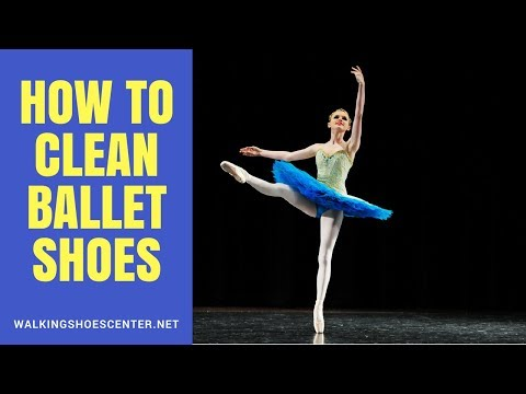 How To Clean Ballet Shoes | Leather ballet shoes, Canvas ballet shoes, Satin ballet shoes