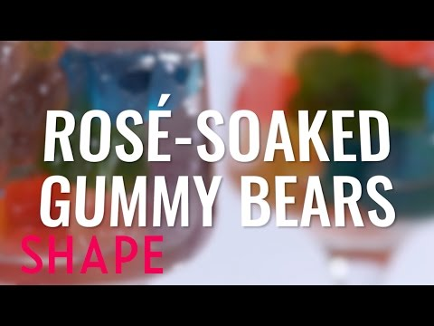 Rosé-Soaked Gummy Bears | Rosé Everything | Shape
