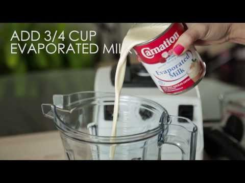 How to make a Coconut Milk Shake