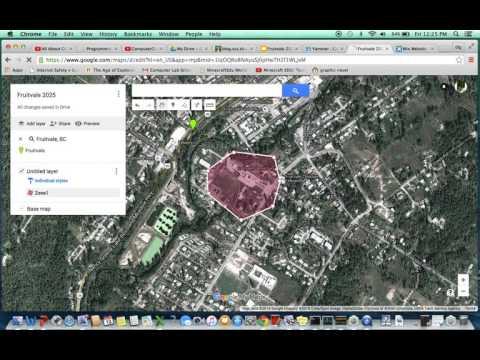 Google my maps to wix