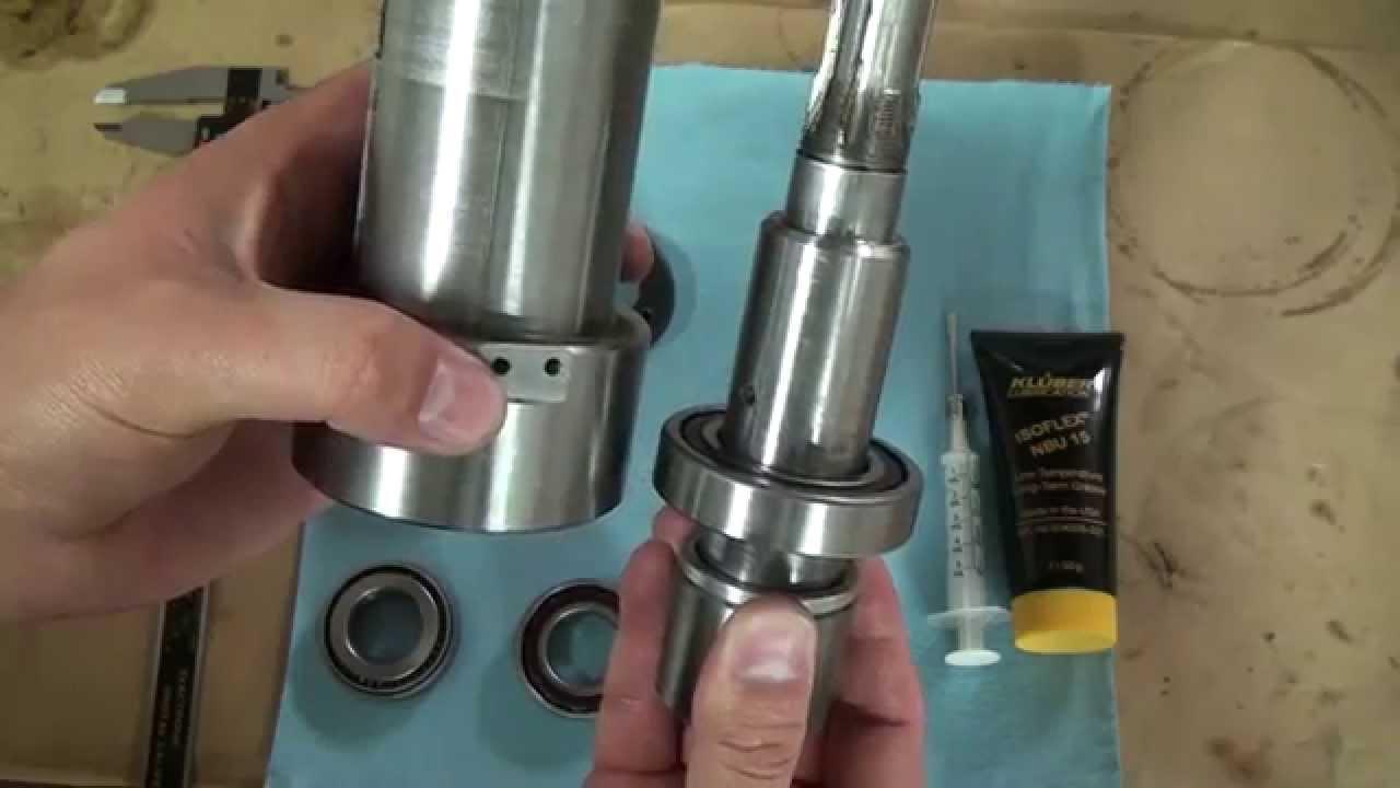 CNC-G0704 #14 Belt Drive Conversion pt2 (Spindle Rebuild)