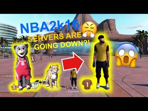NBA2K16 THROWBACK-legend5 rep reset!!|RIP NBA2K16 SERVERS ARE GOING DOWN...