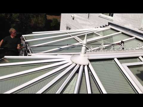 Conservatory Roof clean!