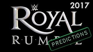 WWE Royal Rumble 2017 predictions in 9 min. v0.1