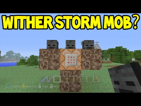 Minecraft Unlikley Features - The WITHER STORM MOB!