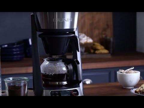 Make Gold Cup Standard Coffee with the BUNN 10-Cup Coffee Maker
