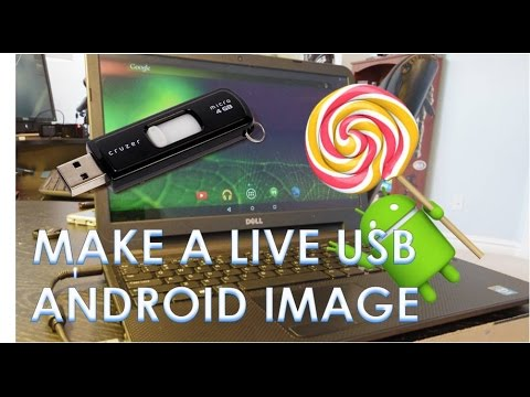 Create a Live Bootable Android USB Flashdrive (for PC's)