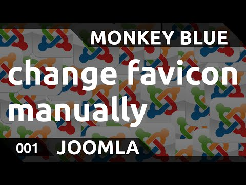 Joomla: how to change the favicon of your website manually