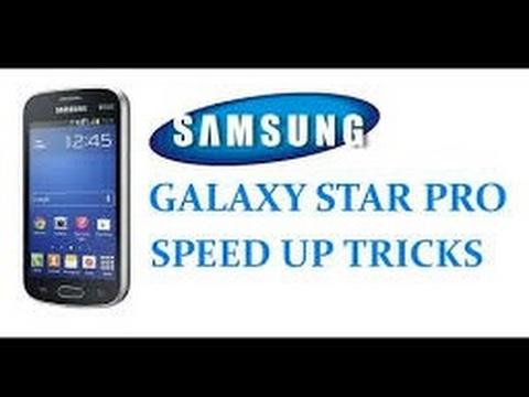 SAMSUNG GALAXY STAR PRO Speed up tricks#2( no root)