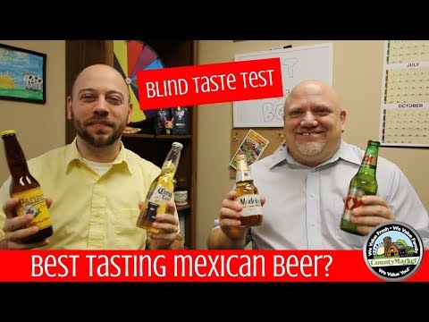What's the Best Mexican Beer? | Blind Taste Test | Ranking