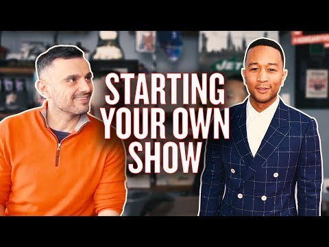 How to Get in Contact With TV Producers | #AskGaryVee with John Legend