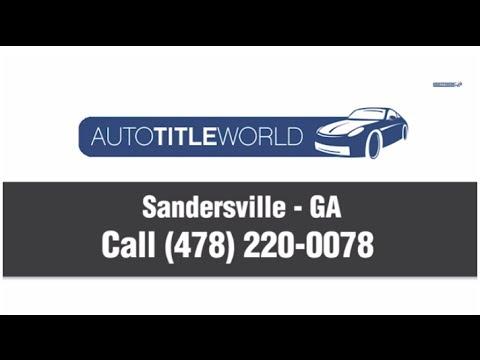 Title Loans Sandersville GA