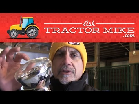 Starting a Tractor When it's REALLY Cold