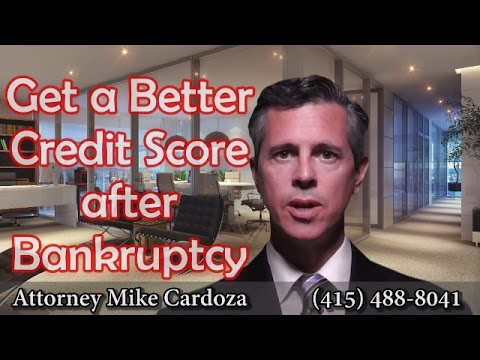 You Can Improve Your Credit Score After Bankruptcy.