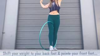 Intermediate/Advanced Hoop Tutorial: No Hands Wedgie Transition
