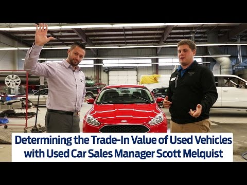 Determining the Trade-In Value of Used Vehicles