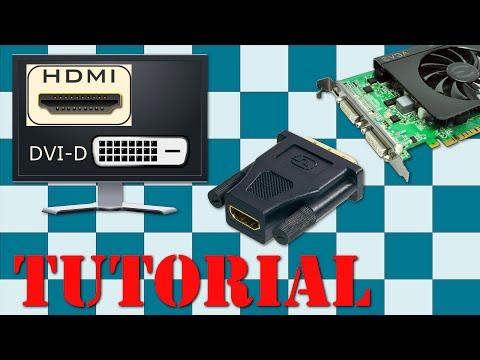 Convierte HDMI a DVI y viceversa, un PC, monitor, TV o consola
