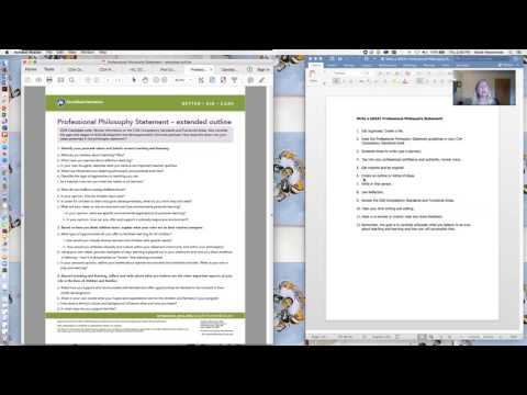 CDA Webinar: Q&A Philosophy Statement