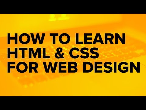 Learning to Code HTML and CSS for Web Design