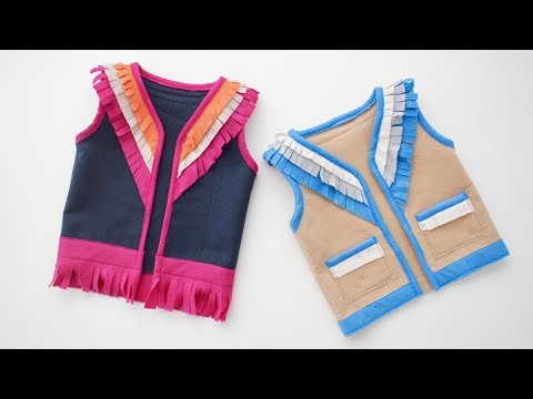 How to sew a Vest, with free pattern!