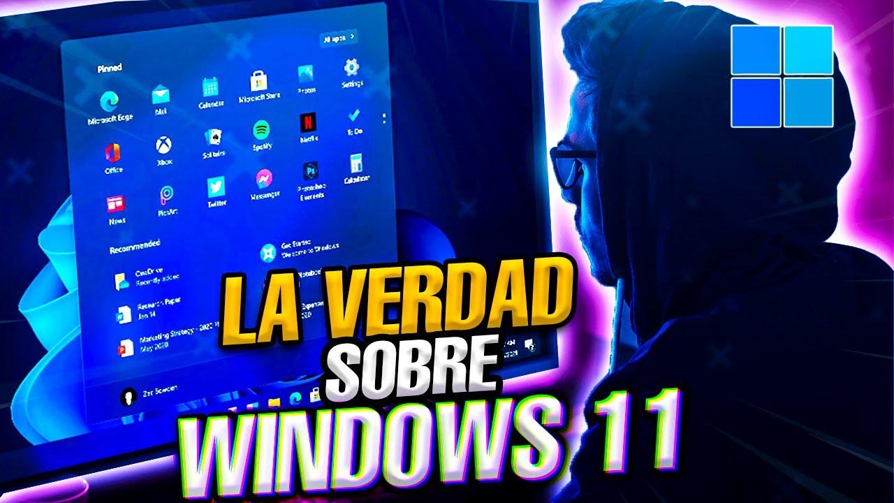 El Nuevo Windows 11 es Oficial / Toda la Verdad del nuevo Windows 11 2021 /
