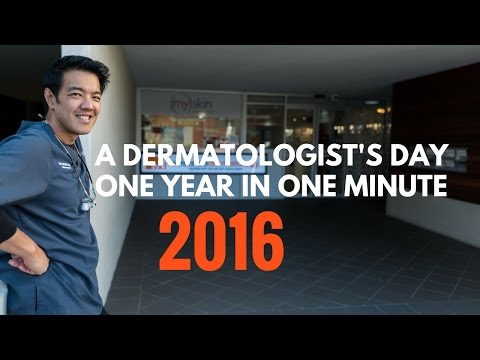 Life as a Dermatologist - one year in one minute