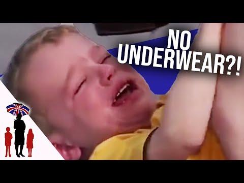 Child Refuses To Wear Underwear | Supernanny