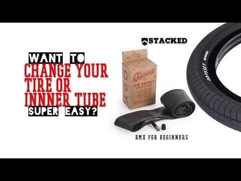 Bmx for beginners: how to change a bike tire or inner tube