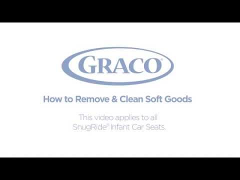 Graco - How to Remove & Clean Soft Goods - Infant Car Seats