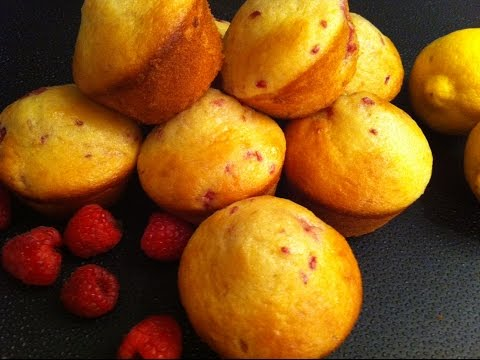 Lemon Raspberry Muffins Recipe - Episode #52