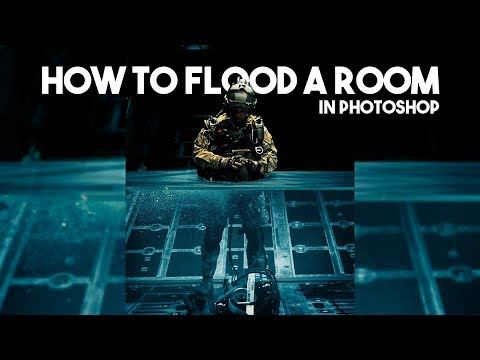 How to Flood a Room in Photoshop