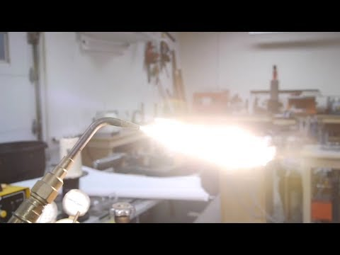 Intro to heat treatment of steel (hardening and tempering)
