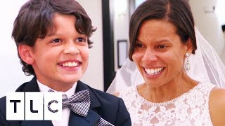 Mini Fashionista Picks The Perfect Dress For His Mum | Say Yes To The Dress Atlanta