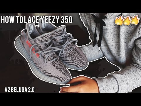 HOW I LACE MY YEEZY 350 V2