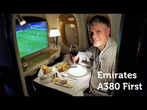 Time to Indulge! Emirates A380 First Class